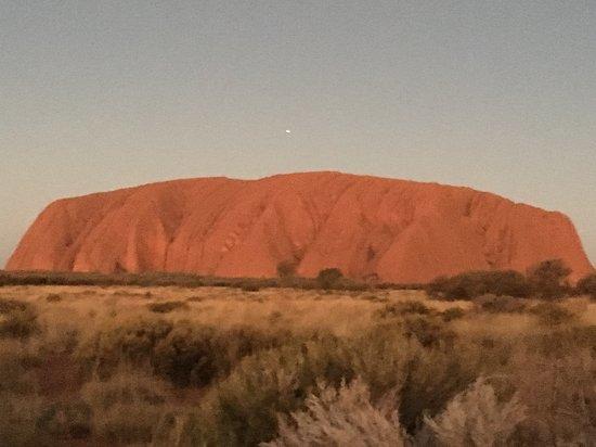 Uluru: Ayers Rock at sunset