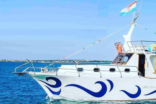 Full day boat trip along the Croatian...