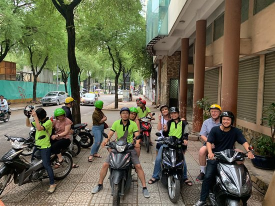 Saigon On Motorbike: before the tour begin