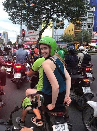 Saigon On Motorbike: on the way to experience the tour