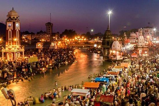 2 dager tur til Haridwar og Rishikesh...