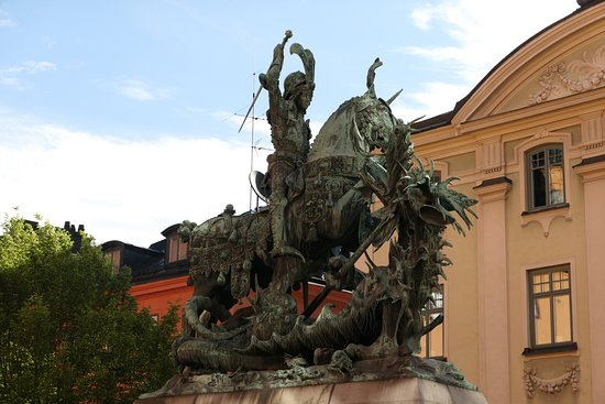 Statue of St. George