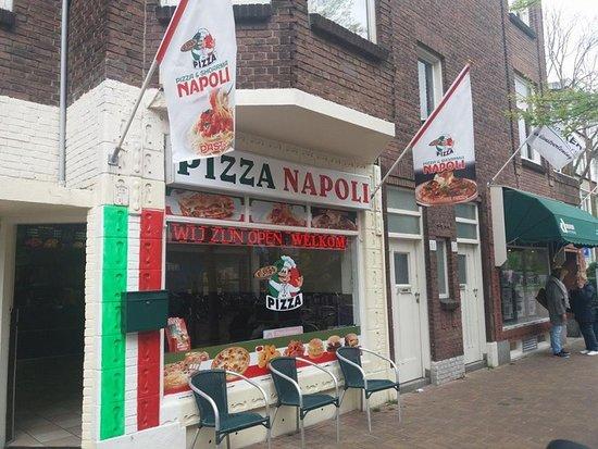 Pizza & Shoarma Napoli: Pizza Napoli