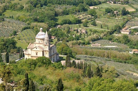 Tempio di San Biagio: vue de haut