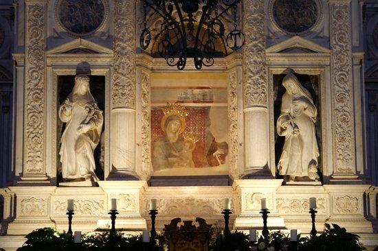 Tempio di San Biagio: détail du choeur