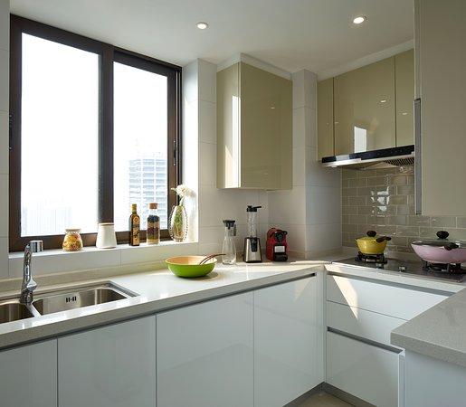 Superior Suite - kitchen
