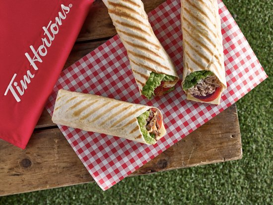 Linwood, UK: Grilled Wraps