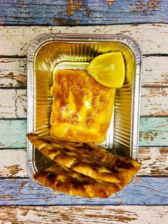 Fresh Greek Prague: Saganaki (Fried Greek Cheese)