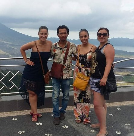 Our trip in kintamani volcano with 3best customer.