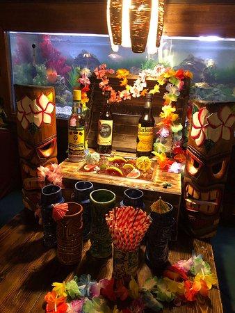 Rum runner cocktail sharer