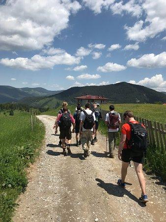 Hiking into Gela
