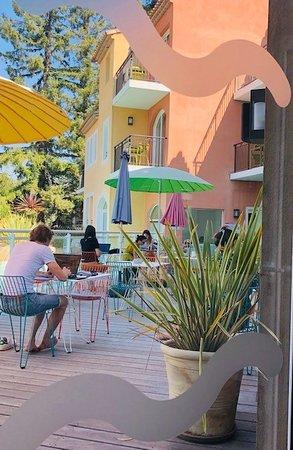 Séminaire au Domaine de Mai ! Etude en terrasse !