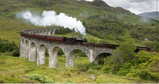 Harry Potter bridge/Hogwarts Express