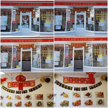 Lam's Garden Chinese Takeaway: 15% discount all of July 2019 (not including set menus or lunch menu).To celebrate the 50th anniversary (June 1969)1st Chinese in Kent area