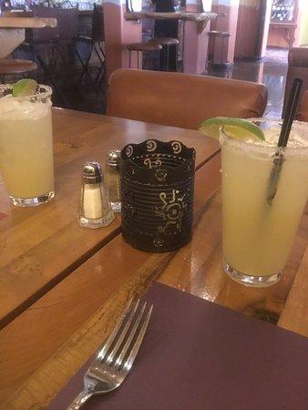 Hacienda Margaritas on a hot day
