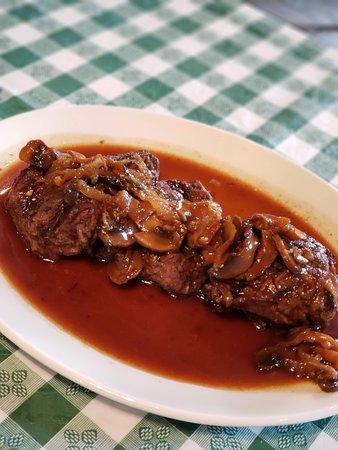 Filet Marsala.