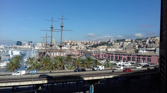Fine room with a great view of the historic port