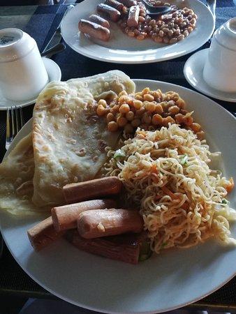Kaani Grand Seaview: Tasteless breakfast