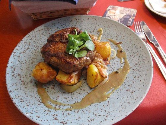 Otrokovice, Tsjekkia: steak