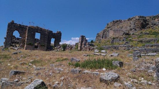 Sillyon Antik kenti: Antik Kent