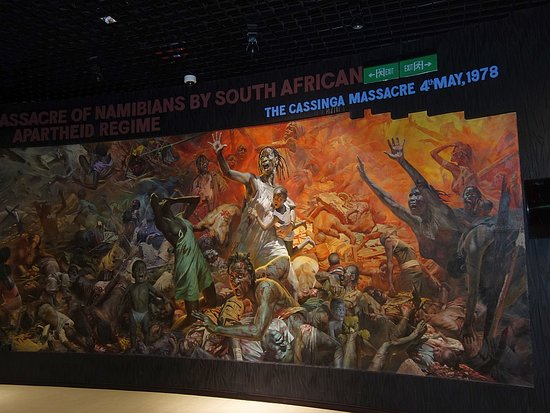 National Museum of Namibia: One of the large visual displays