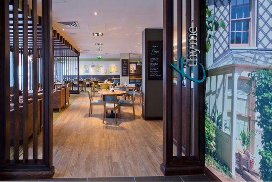 Premier Inn Newcastle City Centre (Millennium Bridge) Hotel: Thyme restaurant
