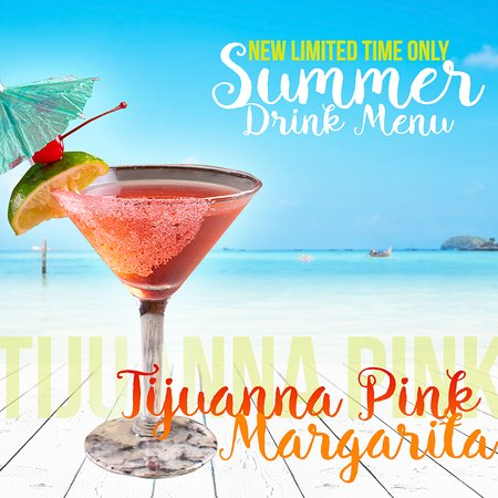 BreWingZ Restaurant and Bar: Tijuana Pink Margarita! Limited time only.