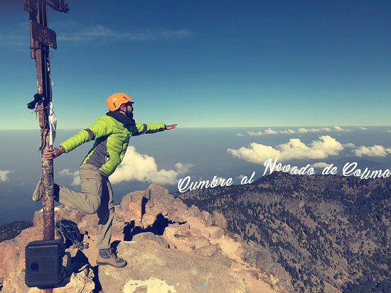 Experiencias Ecoturisticas El Fresnito: The top of Nevado de Colima
