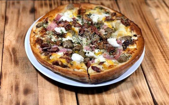 Crea la pizza a tu gusto