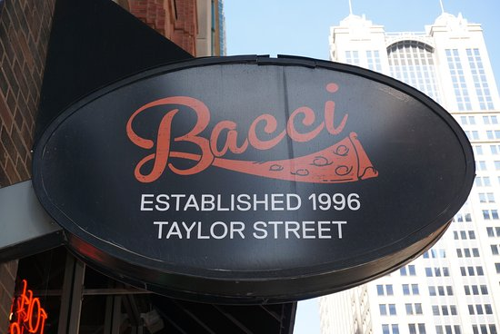 Bacci Pizzeria II:  it's an off-shoot of the main Bacchi Pizzeria in Taylor Street