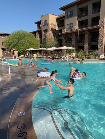 Palo Verde Park had this big pool and a shaded wading pool too, plus hot tub, snack bar, and bathrooms.