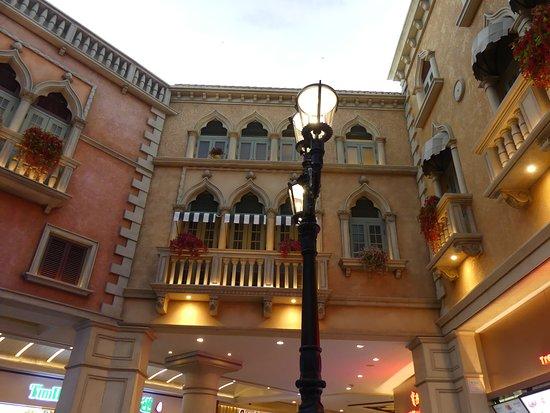 North (The Venetian Macau): The Venetian Gothic architecture inside St Mark's Square 3