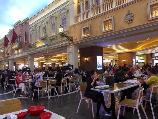 North (The Venetian Macau): Inside the Venetian Food Court 8
