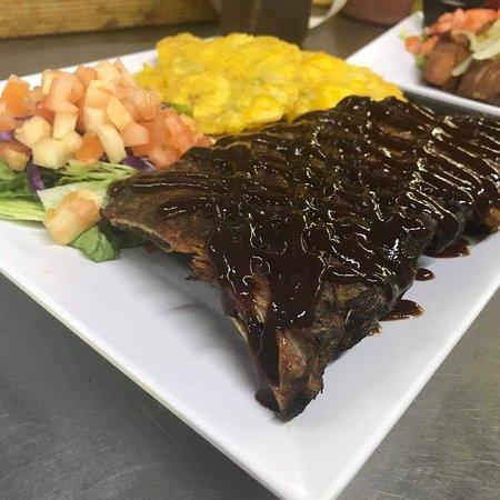 La Casa del Churrasco: Costilla BBQ muaa!!!