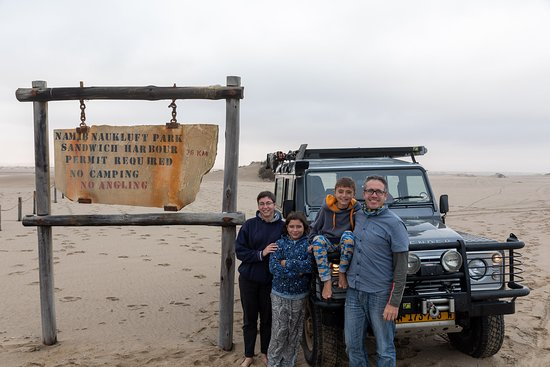 Sandwich Harbour- Guided Self-Drive Tour from Walvis Bay: Entrance to Namib Naukluft Park