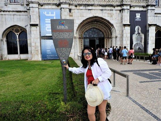 מחוז ליסבון, פורטוגל: Infront of Museo de Geronimos.