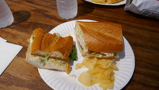 Original Sandwich Shoppe: Tuna salad and yum