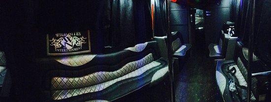 Seattle, WA: Presidential Party Bus Interior