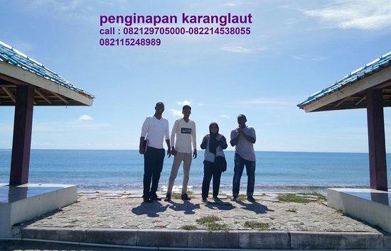 Penginapan di pantai Santolo dan pantai Sayangheulang Garut Selatan Jawa barat