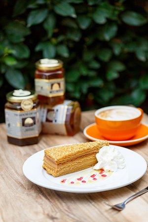 Honey Cake & Coffee