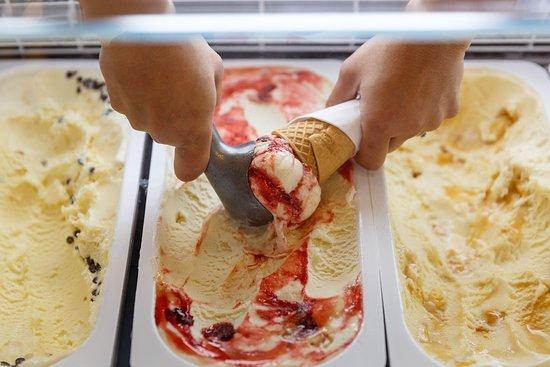 Honey Ice-cream