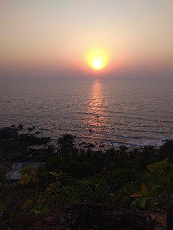 India: beautiful sunset