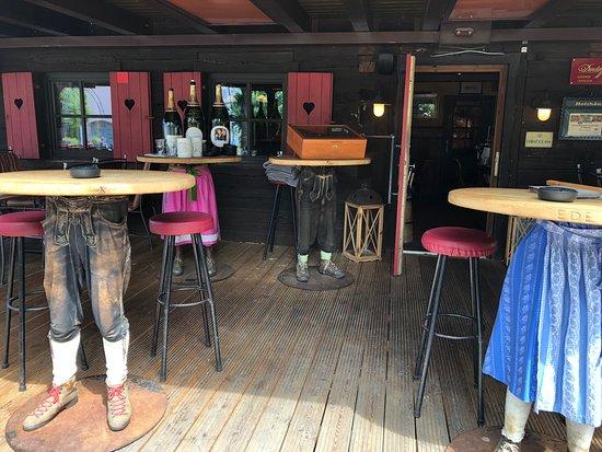 Holzhaeusl : Restaurant Gambas im Holzhäusl