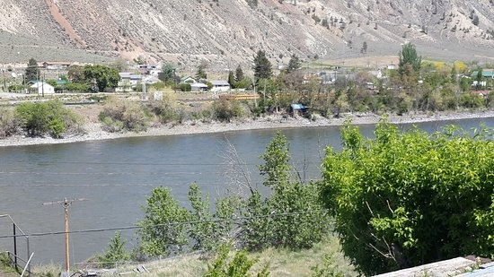 Spences Bridge, แคนาดา: View from the back deck