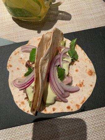 Saona Teixeira: Taco de cordero, aguacate y lima