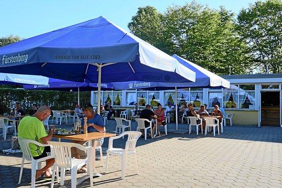 Restaurant und Pizzeria auf dem Campingplatz