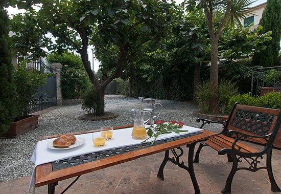 Province of Pisa, Italia: Garden Fresh and very cosy and private parking.
