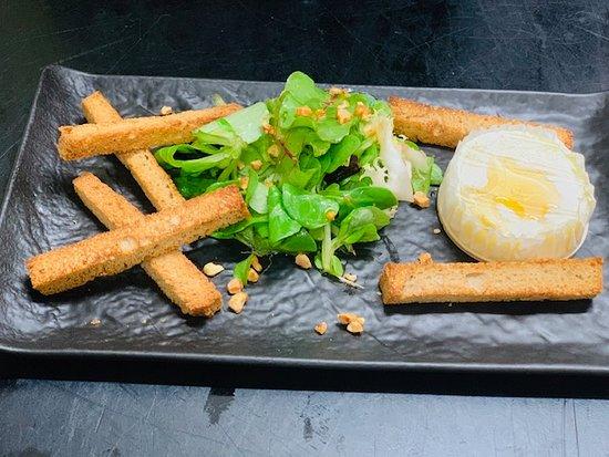 Restaurant le Cohe: Cabécou de rocamadour