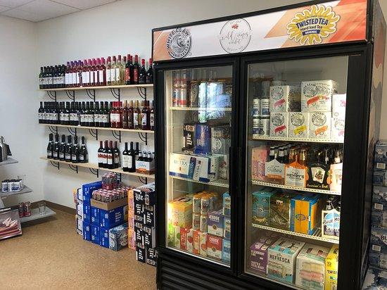 Beach, ND: We offer a large variety of beer, malt beverages & wines!