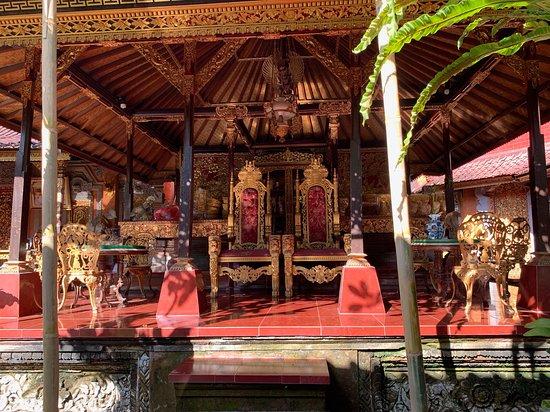 Thrones at Puri Saren Palace